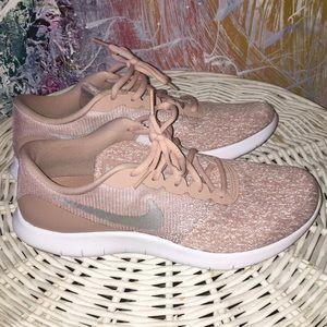 Pink Mauve Nude Nike Sneakers